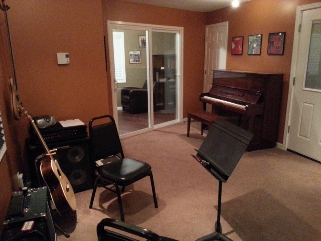 Private Bass Lessons Studio